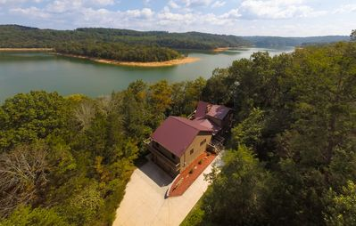 Photo for Rent 4 Bedrooms of this Lakefront Home, Private Dock w/2 slips, on 5 Acres