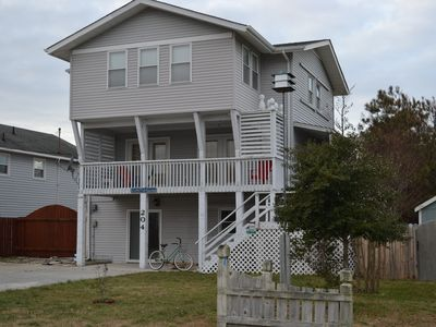 Photo for Family Friendly Cottage w/Ocean Views. LifeGuarded Beach at access.
