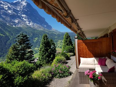 Photo for Apartment Vacation Rental in Grindelwald, Jungfrauregion