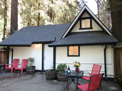 Photo for Cozy Historic Cottage - Redwoods, River and Wineries!