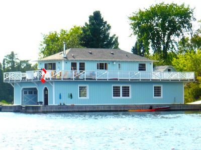 Photo for Big Blue Boathouse - Private Island-Kenora, Lake of the Woods