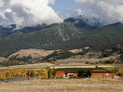 Photo for 3BR Home RIGHT on the Yellowstone River - Best views in Paradise Valley