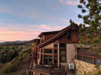 Photo for Magical Chalet | Close to Everything | Sweeping mountain Views | Slps 14