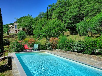 Photo for Unique and luxury country home with private pool in the heart of Tuscany