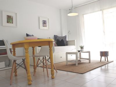 Photo for El Medano, terrace, 3 minutes from the beach!