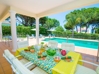 Photo for Beautiful Large Detached Villa at Vilamoura Marina with Private Pool