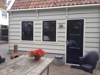 Photo for Romantic and comfortable mini-fisherman's cottage in Amsterdam-Durgerdam