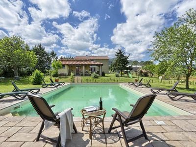 Photo for Classic Tuscany | Agriturismo le Selvole | Private pool and garden