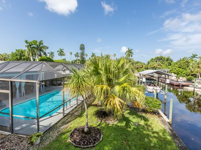 Photo for Contemporary 3BR/2BA Near Sanibel Island - On Canal w/Pool & Dock Access