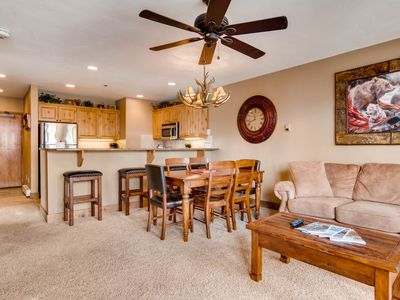 Photo for ALL AMENITIES, OWNER RENTS<250 YDS TO MTN!  2BED/2BTH,  HTD HT/POOL, WIFI