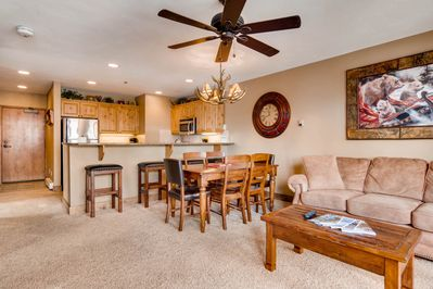 2 BED/2BATH CONDO, 200 YDS TO MTN, DISCOUNT LIFTS, HTD POOL, HS INTERNET! -  Steamboat Springs