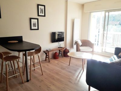 Photo for beautiful 2 room apartment with parking near the beach