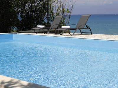 Photo for Amazing villa by the sea with private swimming pool and breathtaking view