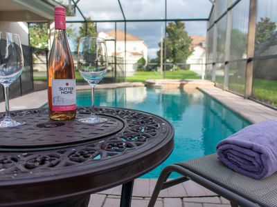 Photo for Beautiful Windsor Hills Pool Home located 10 minutes from Disney