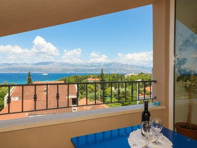 Photo for Apartment Ana  A3(4+1)  - Supetar, Island Brac, Croatia