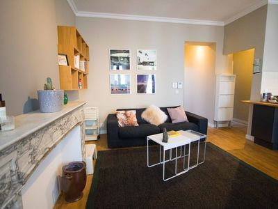 Photo for Unit 11 - Lovely Apartment with Terrace near Avenue Louise