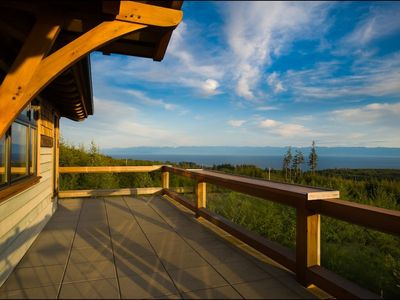 Take in the panoramic views from the upper deck