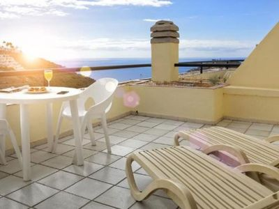 Photo for Roslara 2 apartment in Puerto Rico with WiFi, shared terrace, shared garden, balcony & lift.