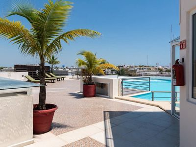 Photo for Rooftop Pool - Paradise in Playa- 100 Walk Score!