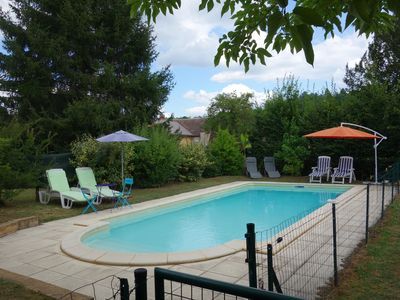 Photo for Stone house with swimming pool in Sarlat