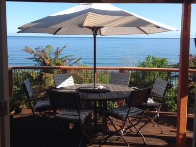 Photo for Stunning sea views, sunsets in a romantic, cosy Kiwi holiday home