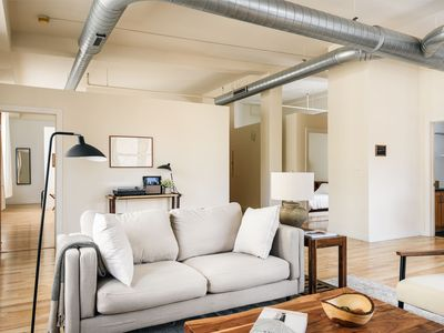 Photo for Arch, Dome, Dtown | Artsy Loft + Rooftop | Zencity