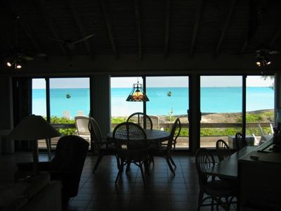 Photo for Private Oceanfront Home on Tar Bay with Beautiful Private Beach