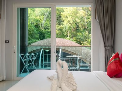Photo for ET420 - Pool view Patong studio with pool and shuttle to beach