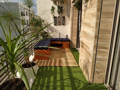 Photo for Super Apt 2 Room LUXURY 3 mins from the Sea