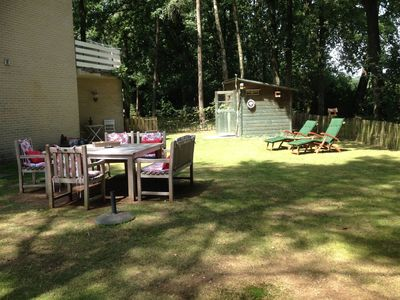 Photo for Lovingly furnished holiday home on a smal park at the edge of the natuurpark Kampina