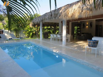 Photo for New Caribbean Villa / Private Pool / 200M beach and Restaurants  / Free Wifi