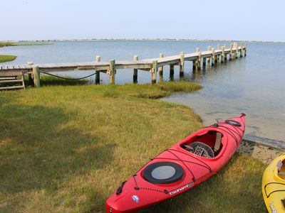 Photo for Spectacular waterfront with private dock/beach - full A/C - newly renovated