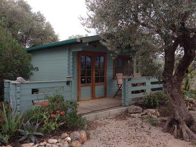 Photo for An off-grid cabin for two, with views of the Els Ports Mountain range
