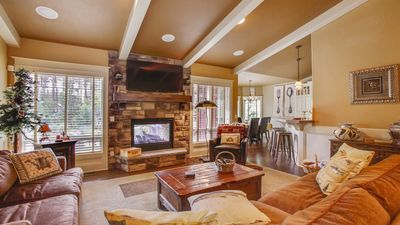 Photo for Big River Retreat - Bring your toys to this welcoming single level craftsman style house. Huge 1/2 acre lot & just minutes from Sunriver