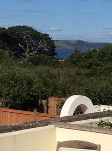 Photo for Sea views, great facilities, quite location, 15mins walk to Saundersfoot & beach