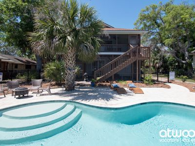 Photo for Redi-Mixed - Private Pool & Easy Walk to the Beach; Pet Friendly