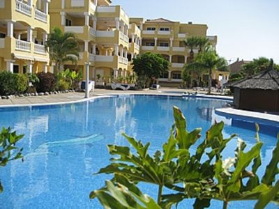 Photo for Five Star Poolside Apartment In Peaceful Location In Duquesa Del Mar Complex