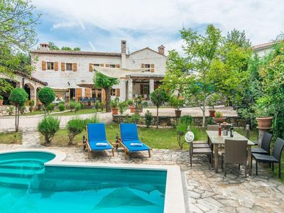 Photo for Holiday house Zminj for 1 - 10 persons with 4 bedrooms - Holiday house