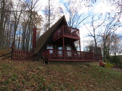 Photo for Summit Hill Mountain home- Blue Ridge Mtn Hot tub Pet friendly