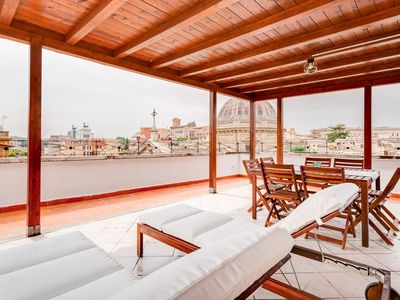 Photo for Elegant 3 Bed in Monti w/Terrace - amazing view