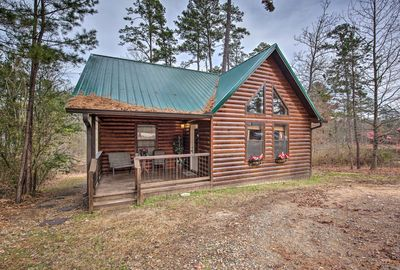 Located in Broken Bow, this home is ideal for lake lovers and outdoorsmen.