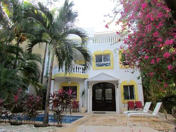Playacar 4 Bedroom Villa w/ Private pool and spectacular ocean views