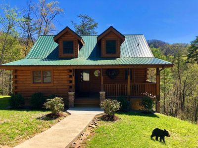 Photo for Only 5 miles to Parkway! Very Private with Hot Tub & Pool Table. Access to Pool, Fishing, Golf, etc.