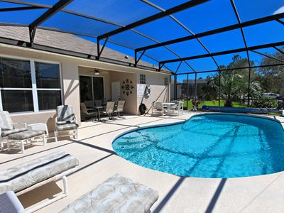 Photo for Bright/Spacious pool home in Windsor Palms