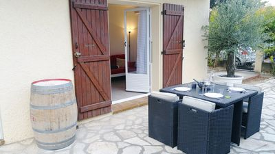 Photo for Quiet & bright 5 minutes from the beach and Albères