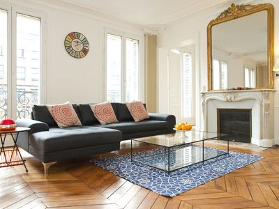 Photo for SPACIOUS APARTMENT IN THE HEART OF PARIS - THE SEINE - QUARTER LATIN - SORBONNE