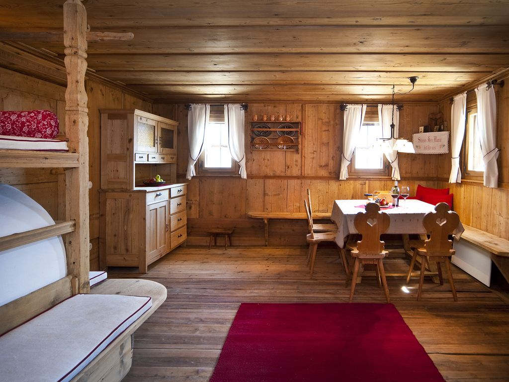 Chalet Arredamento. Beautiful Luarte Naturale Del Legno With Chalet ...