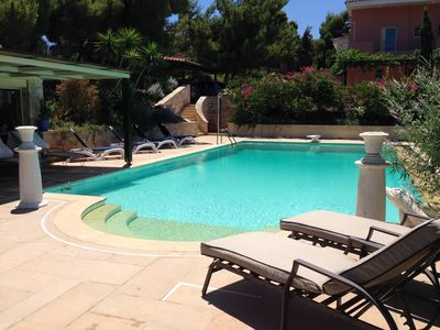 Photo for Beautiful Private Villa In Sounio