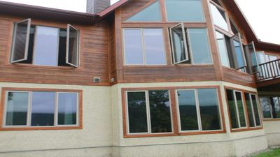 Photo for Five Star Chalet walk from Tremblant Ski and Golf Resort! Breathtaking View!