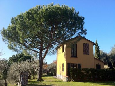 Photo for Beautifully restored hay-barn with splendid views, set amongst olive groves and 7 km from the sea. Sarzana